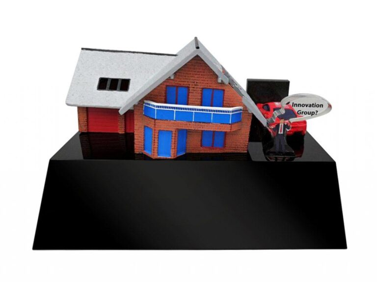 deal toys financial tombstones house buliding