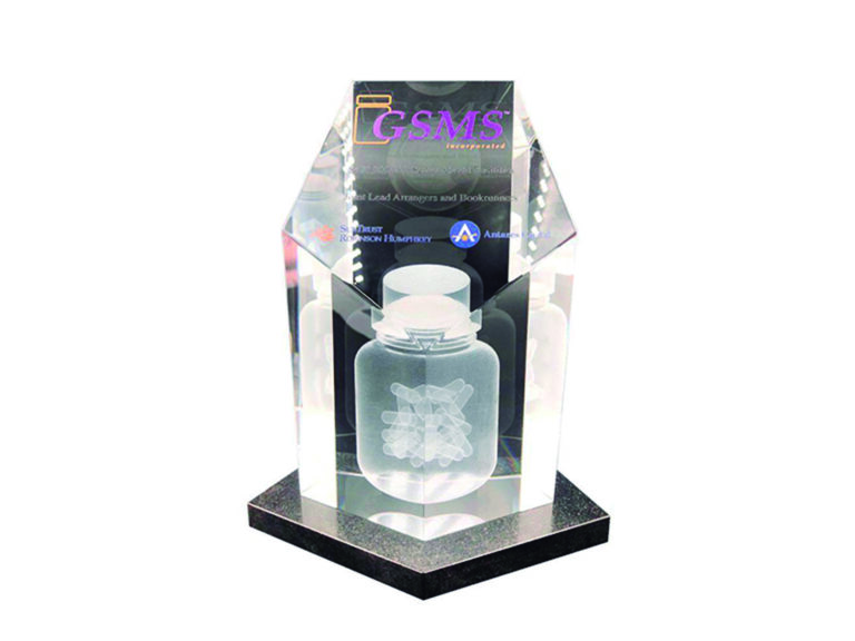 Crystal Pill Bottle Deal Toy