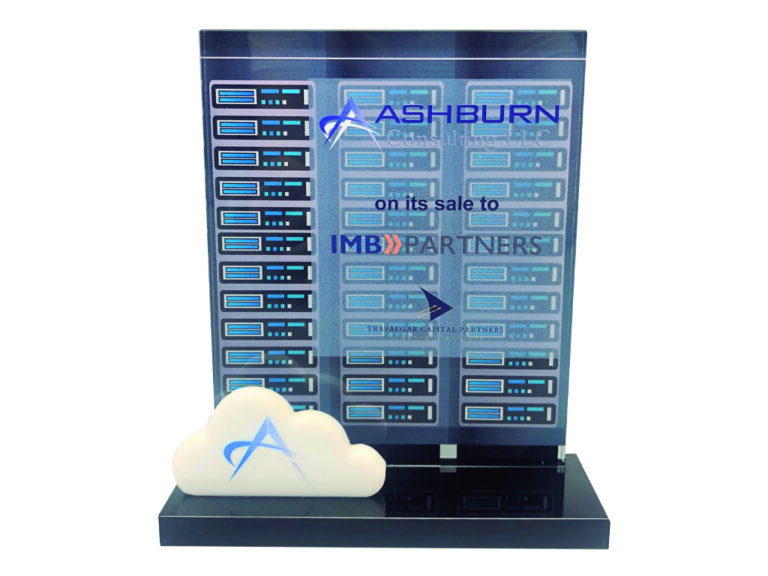Deal toys Cloud Storage and Date Fiber Optic Financial Tombstone