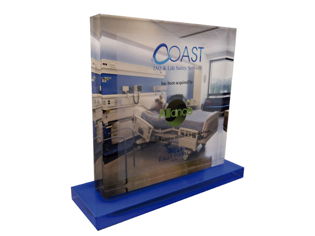 Lucite Financial Tombstone